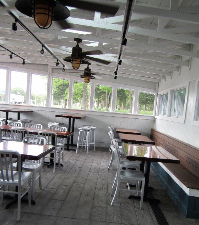 dining room with tables and chairs
