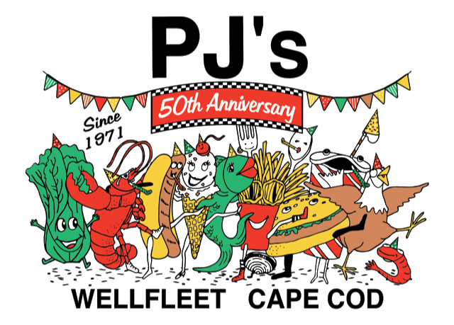 PJ's 50th Anniversary since 1971 Wellfleet Cape Cod
