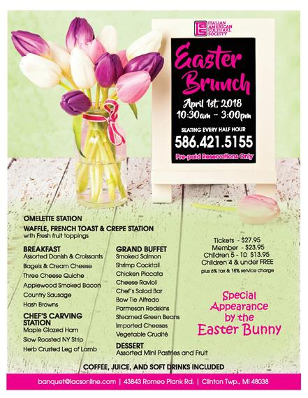 easter flyer 2018 full page