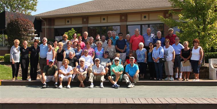 Bocce group photo