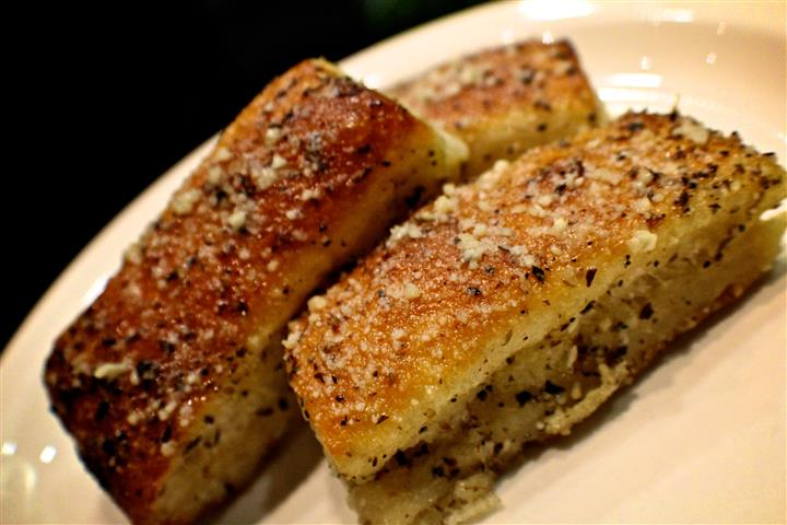 Famous, house-made garlic bread