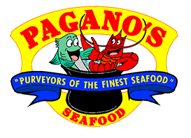 """pagano's seafood """"purveyors of the finest seafood"""""""