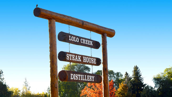 Lolo Creeak Steakhouse Fall