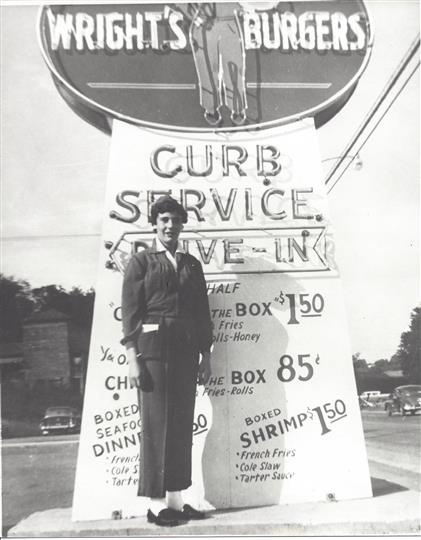 Early curb girl