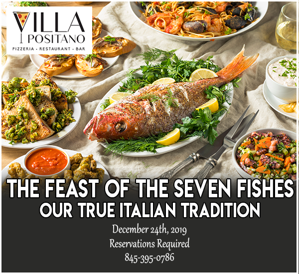 The Feast of The Seven Fishes  Our true Italian tradition! Reservations required.