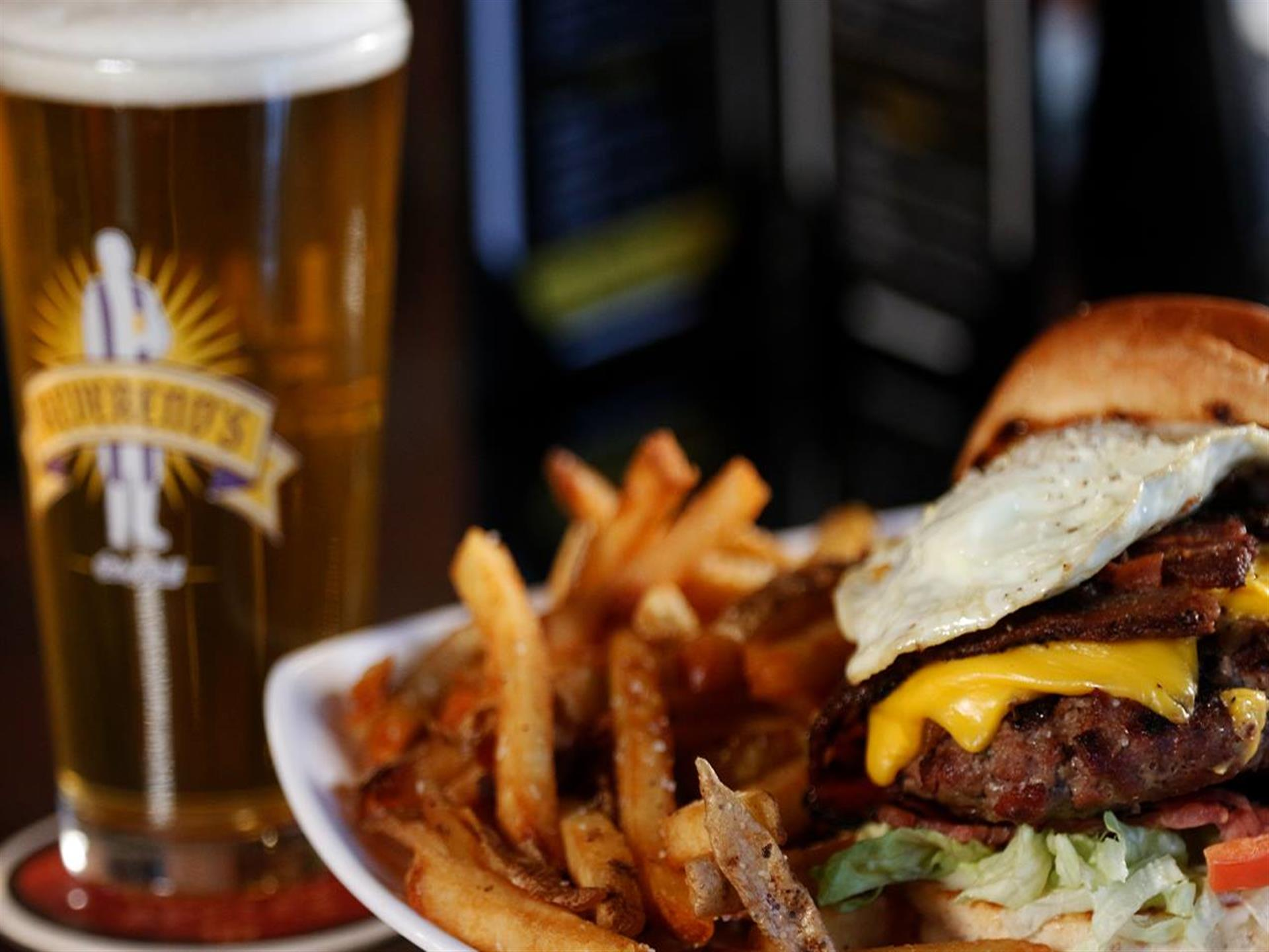 $3 Craft Draft and $7.99 Craft Burger