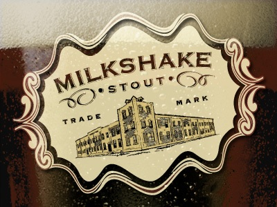 Milkshake Stout Sweet Stout. Trade Mark.