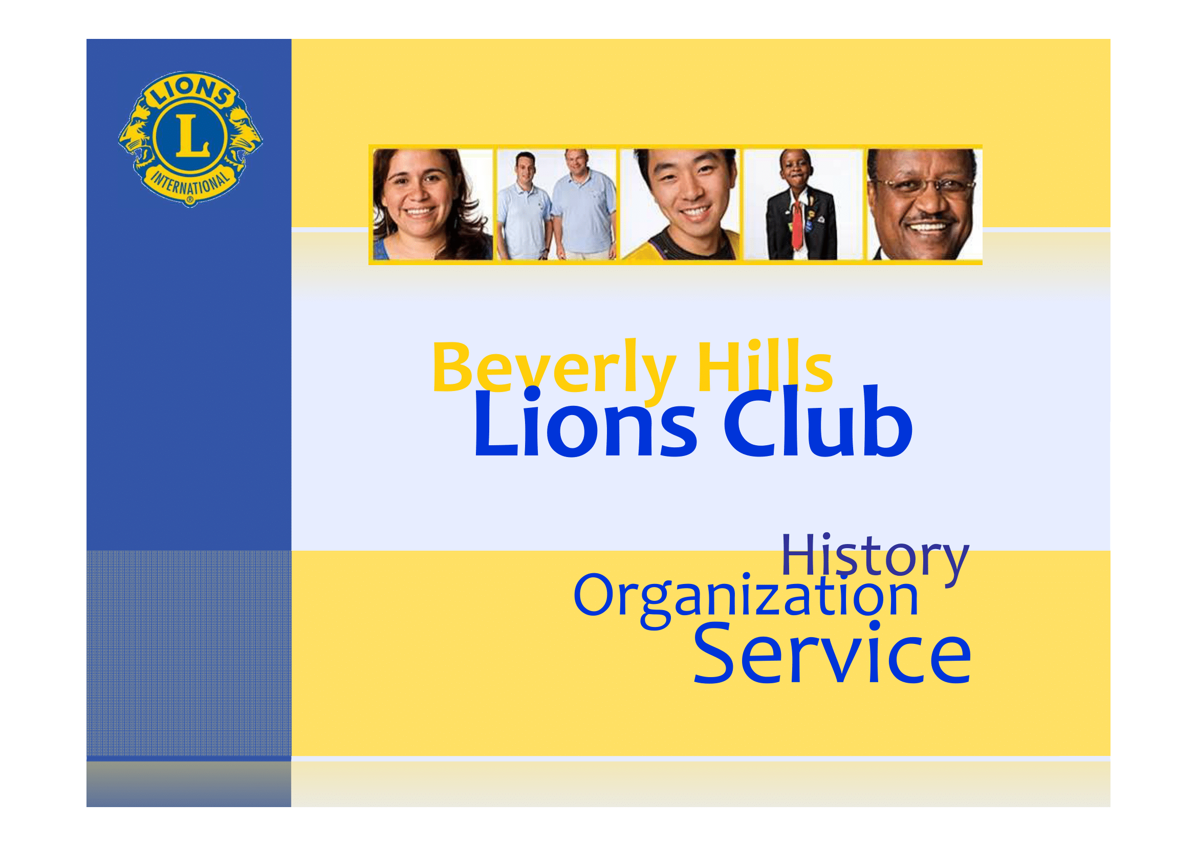 Beverly Hills Lions Club Photo