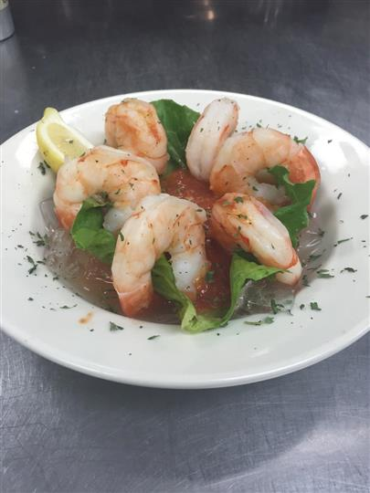Six Shrimp dish