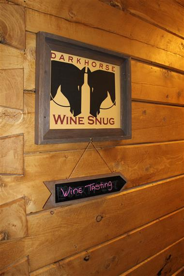Wine Snug Sign