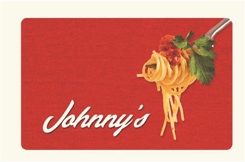 Johnny's Gift Card