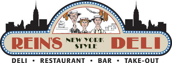 Rein's New York Style Deli. Deli, restaurant, bar, take-out