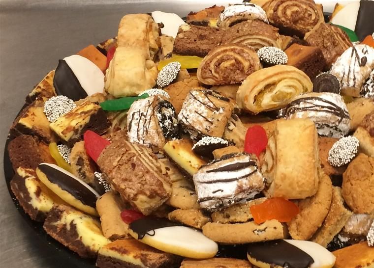 Assorted Finger Desserts platter