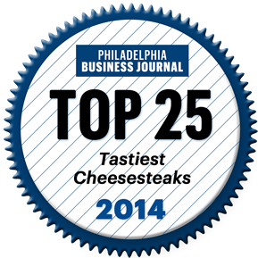 Wit or Witout 2014 Top 25 Tastiest Cheesesteaks