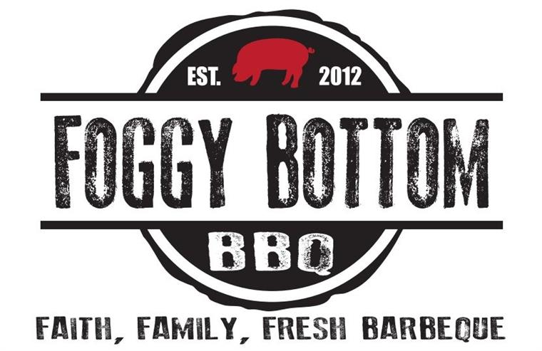 Foggy Bottom BBQ. Established 2012. Faith, family, fresh barbeque