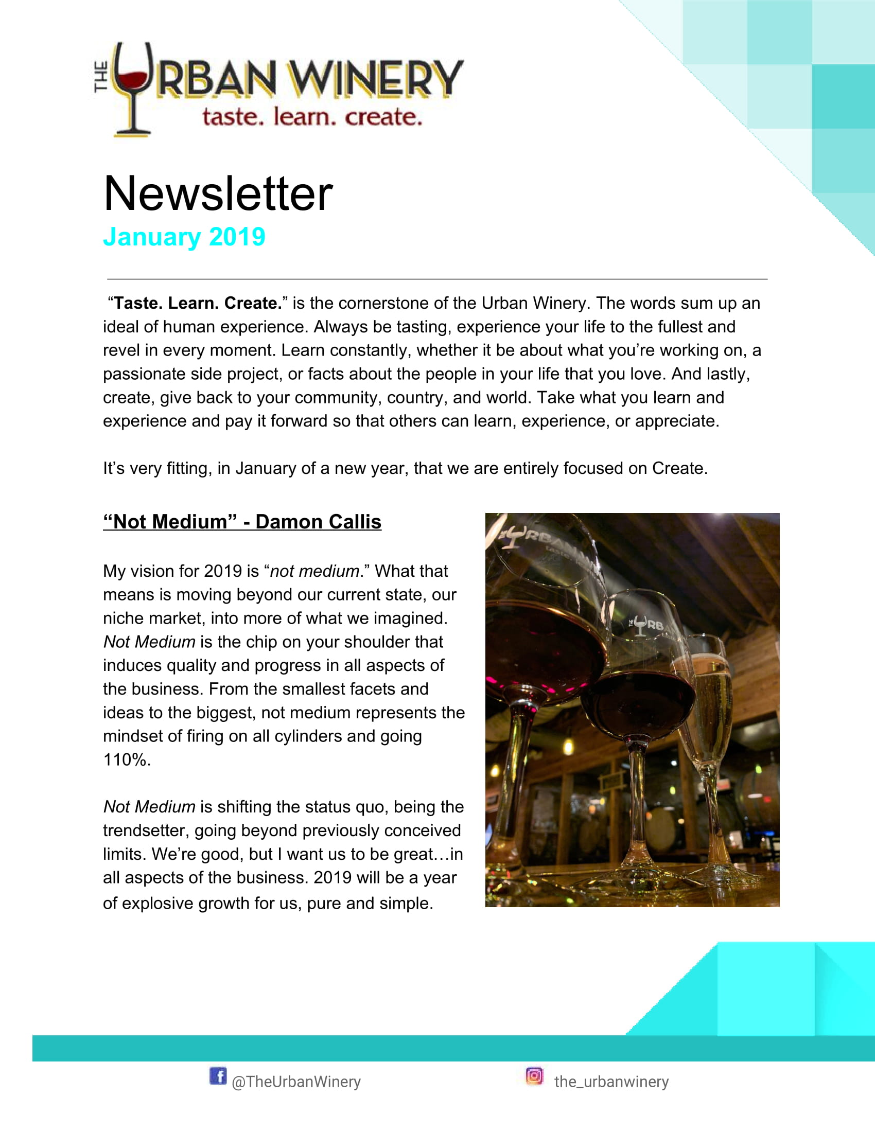 Page 1 January Newsletter