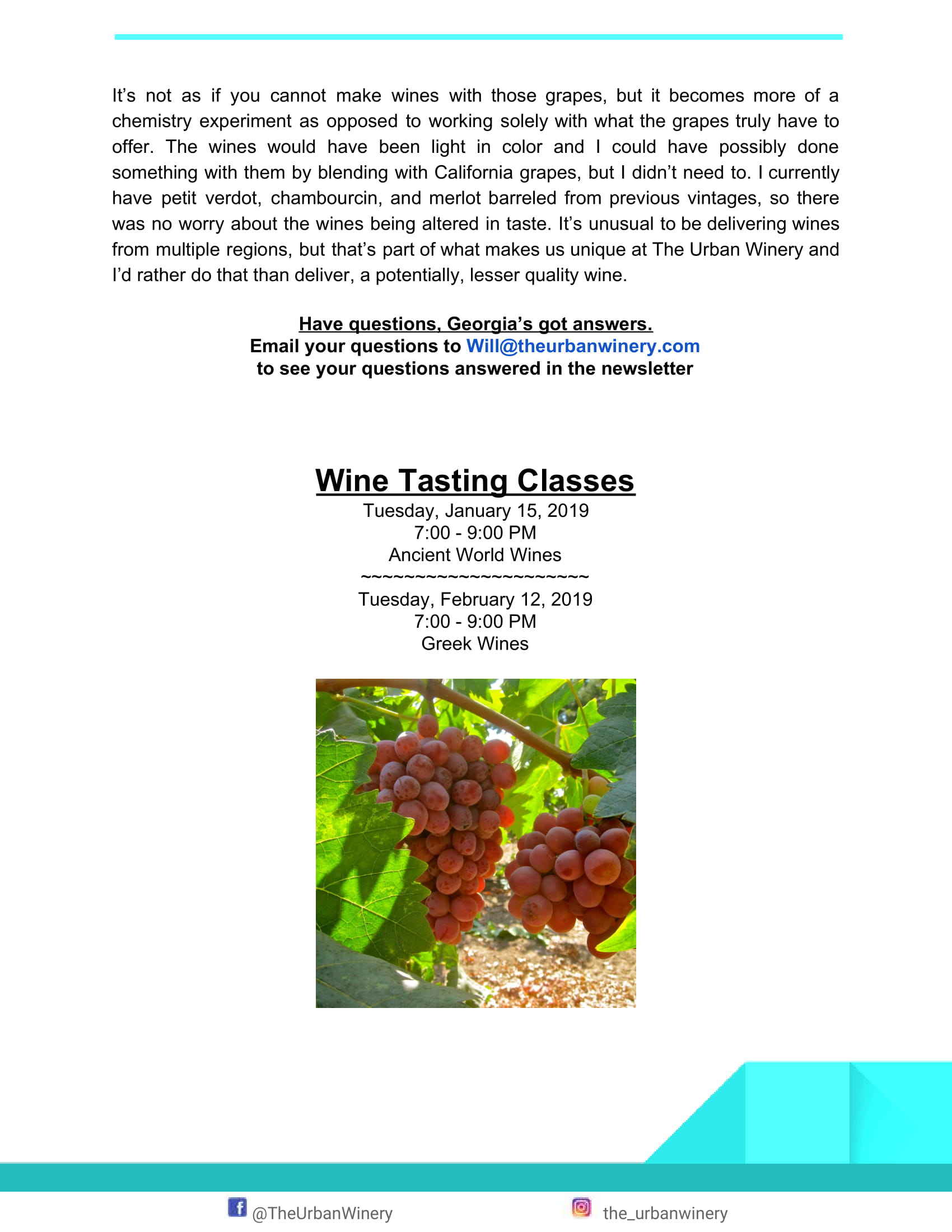 Page 3 January Newsletter