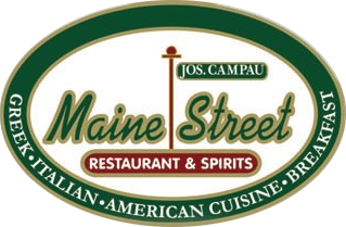 Maine Street restaurant & spirits. Greek, italian, american cuisine, breakfast.