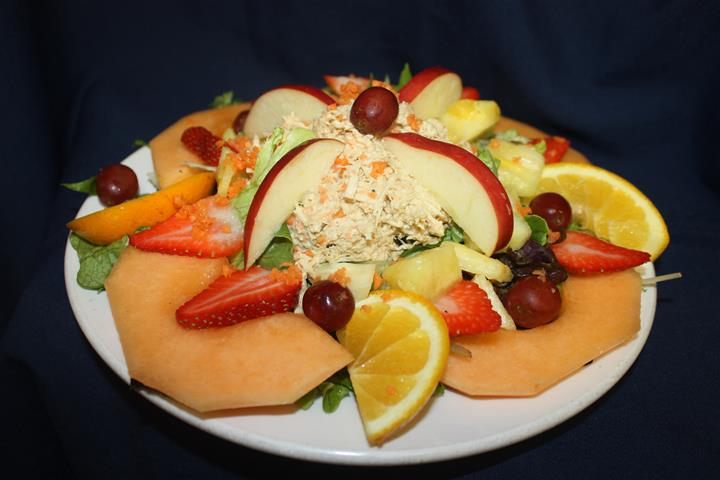 fruit salad made from various fruits