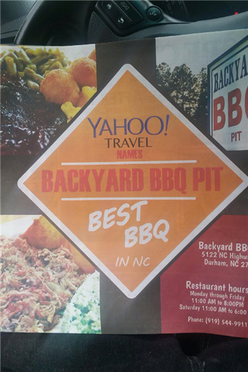 yahoo travel sign voting backyard bbq pit the best bbq in North Carolina