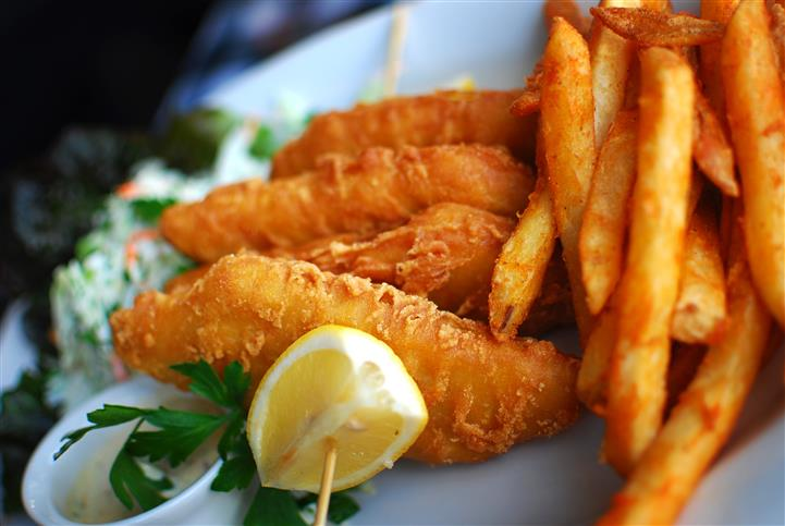 fish with fries