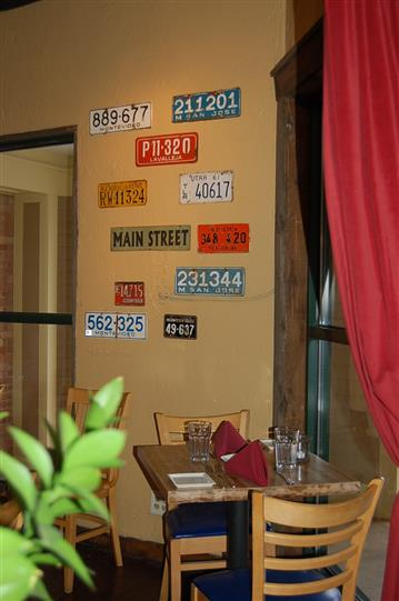 wall with several license plates