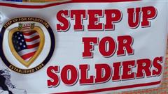 step up for soldiers sign