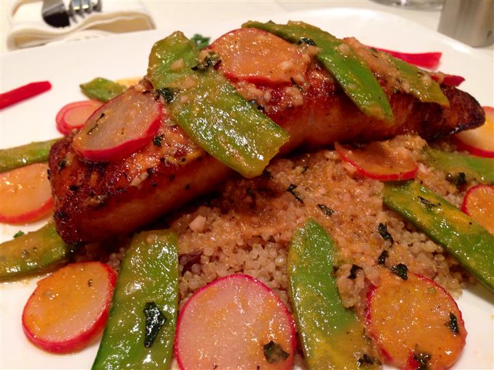 ---- Soy-Citrus Glazed Salmon (large)