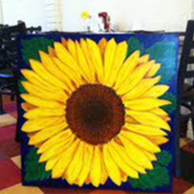 gary blake sunflower table