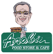 Arabi Food store and cafe.