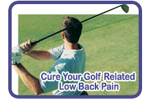 cure your golf related low back pain