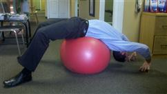 ---- theraball stretch (large)