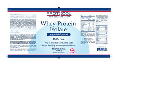 Name: P2172 Whey Protein Isolate 2 lbs V1 11-8-2013