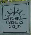four corners grille sign