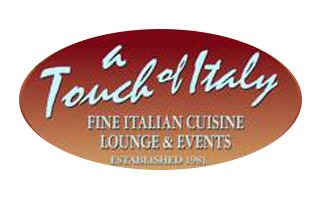 A touch of italy. Fine italian cuisine. Lounge and events. Established 1981