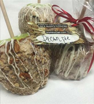 Pecan pie apples