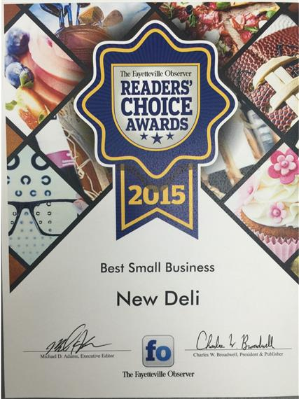 2015 readers choice award