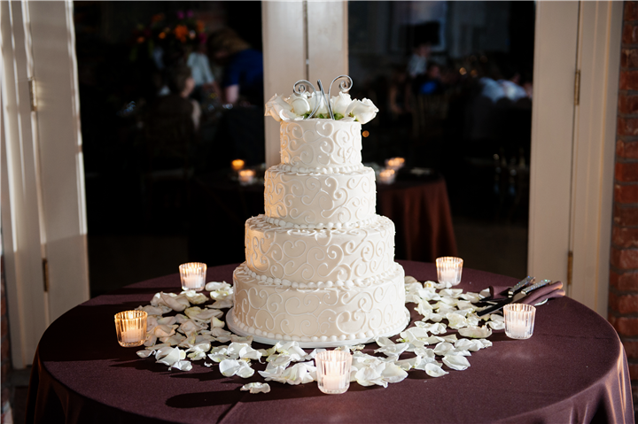 Wedding cake, tall