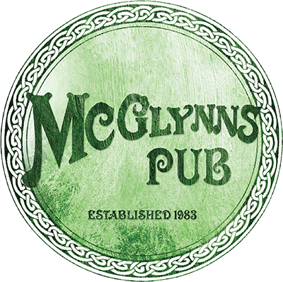 McGlynns Pub. Established 1983.