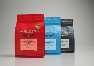 3 intelligensia coffee bean bags