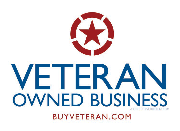 veteran owned business logo buyveteran.com