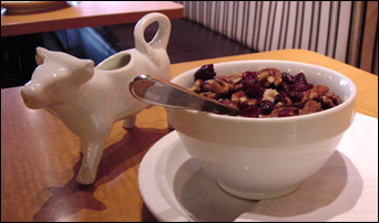 cup of chewy granola
