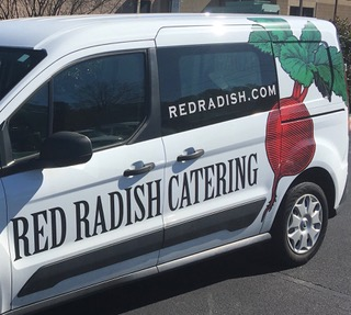 red radish catering van