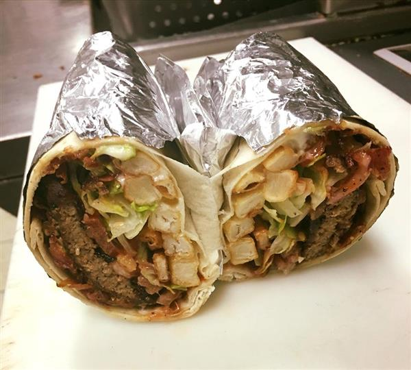 Cheeseburger Burrito