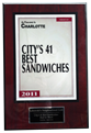 City's 41 Best Sandwiches 2011