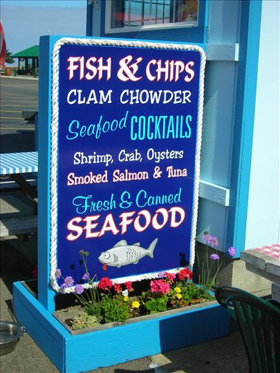 We Sell Fish by the Can!!