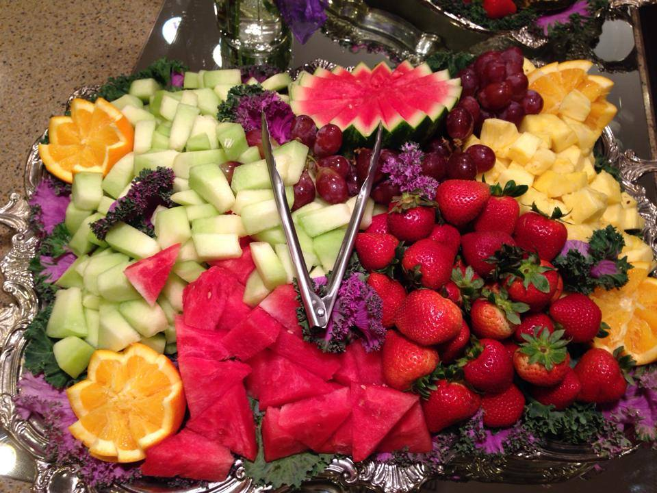 assortment of fruit on a tray