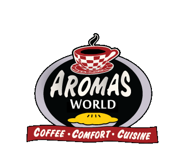Aromas World. Coffee, comfort, cuisine.