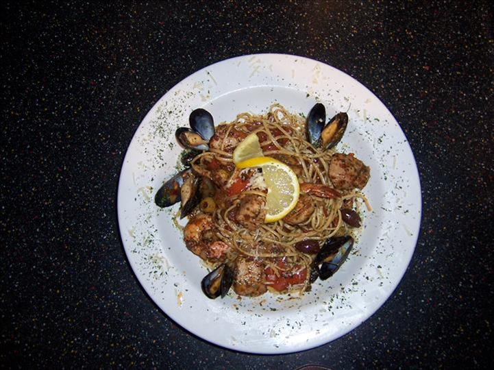 noodles with clams