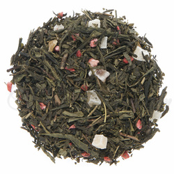 loose leaf tea displayed in a pile